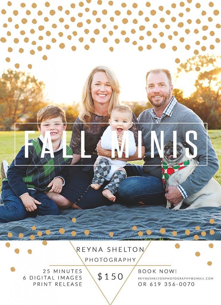 fall mini sessions- San Diego and Martinsburg, WV